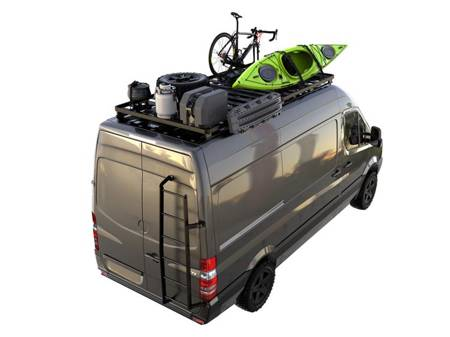 Dodge Sprinter Van (2007-Current) Slimline II Roof Rack Kit