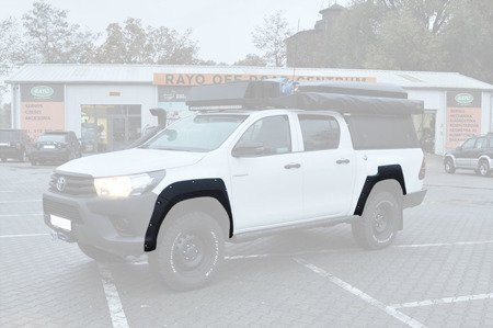 Toyota Hilux Bolt Style Fender Flares - Wide Body