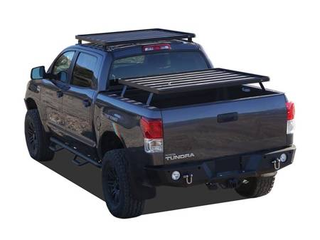 Toyota Tundra DC 4-Door Pick-Up Truck (2007-Current) Slimline II Load Bed Rack Kit