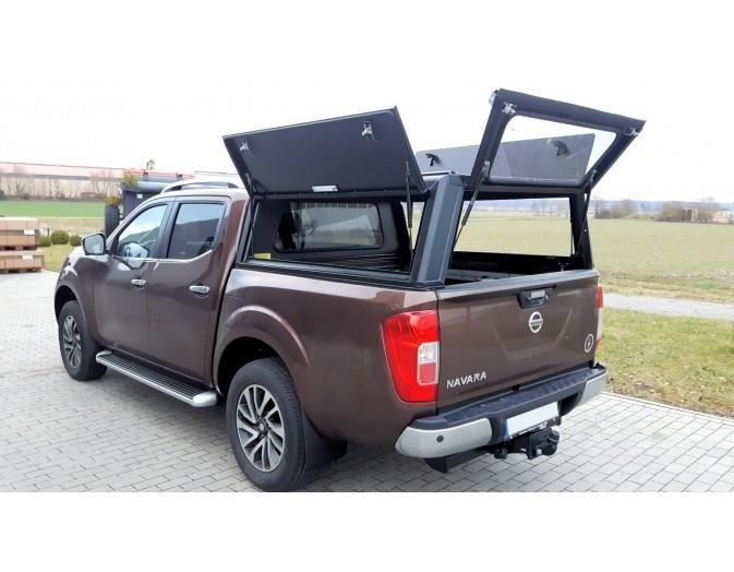 Zabudowa Pick Up Nissan Navara D40 2 Cab Alu Cab Canopies